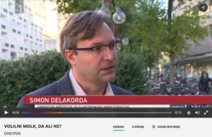 Komentar direktorja Zavoda INePA mag. Simona Delakorde za Dnevnik TV Slovenija, 21. oktober 2017.