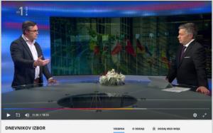 Nastop direktorja Zavoda INePA mag. Simona Delakorde v Dnevniku TV Slovenija, 2. januar 2019.