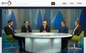 Nastop direktorja Zavoda INePA mag. Simona Delakorde v pogovorni oddaji Odkrito TV Slovenija, 9. april 2014.